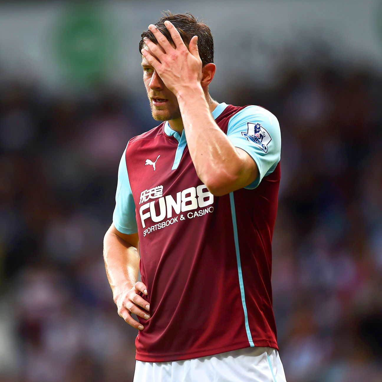 The goals are simply not coming for Lukas Jutkiewicz and the rest of the Burnely strike force.