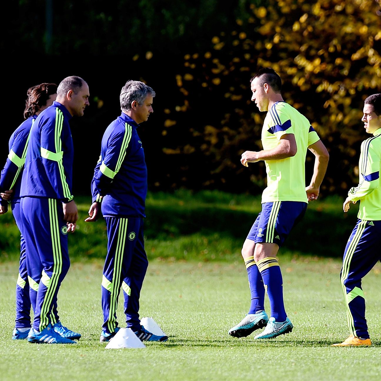 Mourinho's training ground focus on defence will be put to the test by Van Gaal's attacking forces.