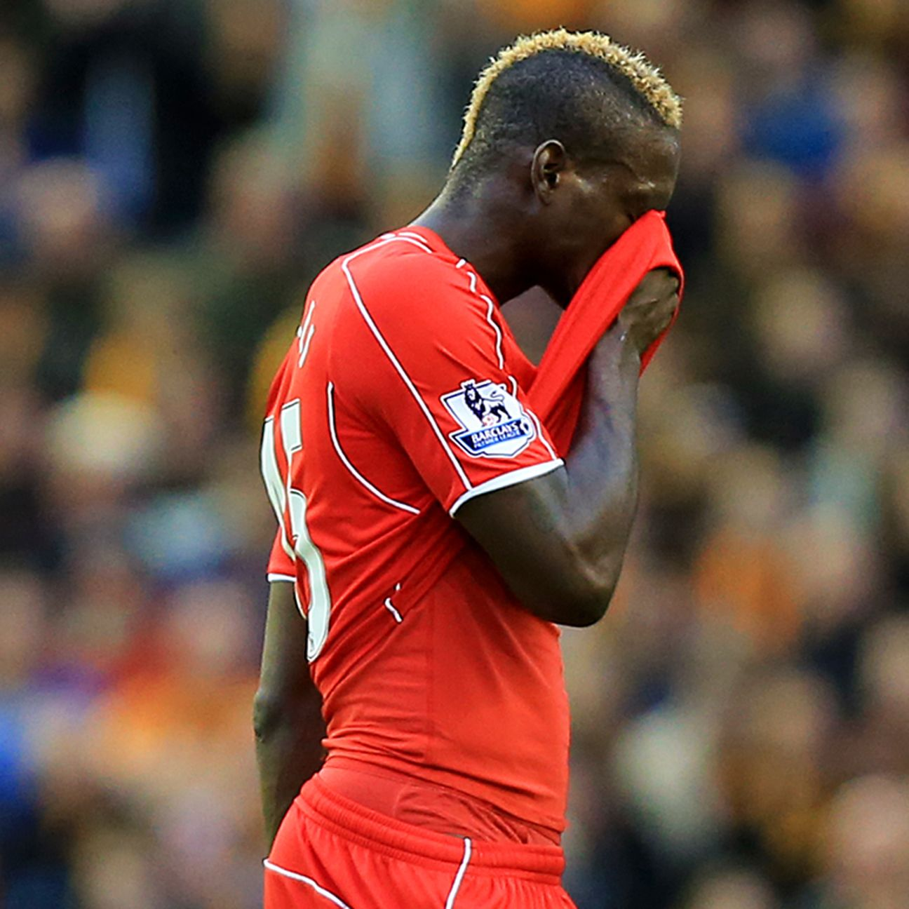 Mario Balotelli is still seeking his first Premier League goal in Liverpool red.