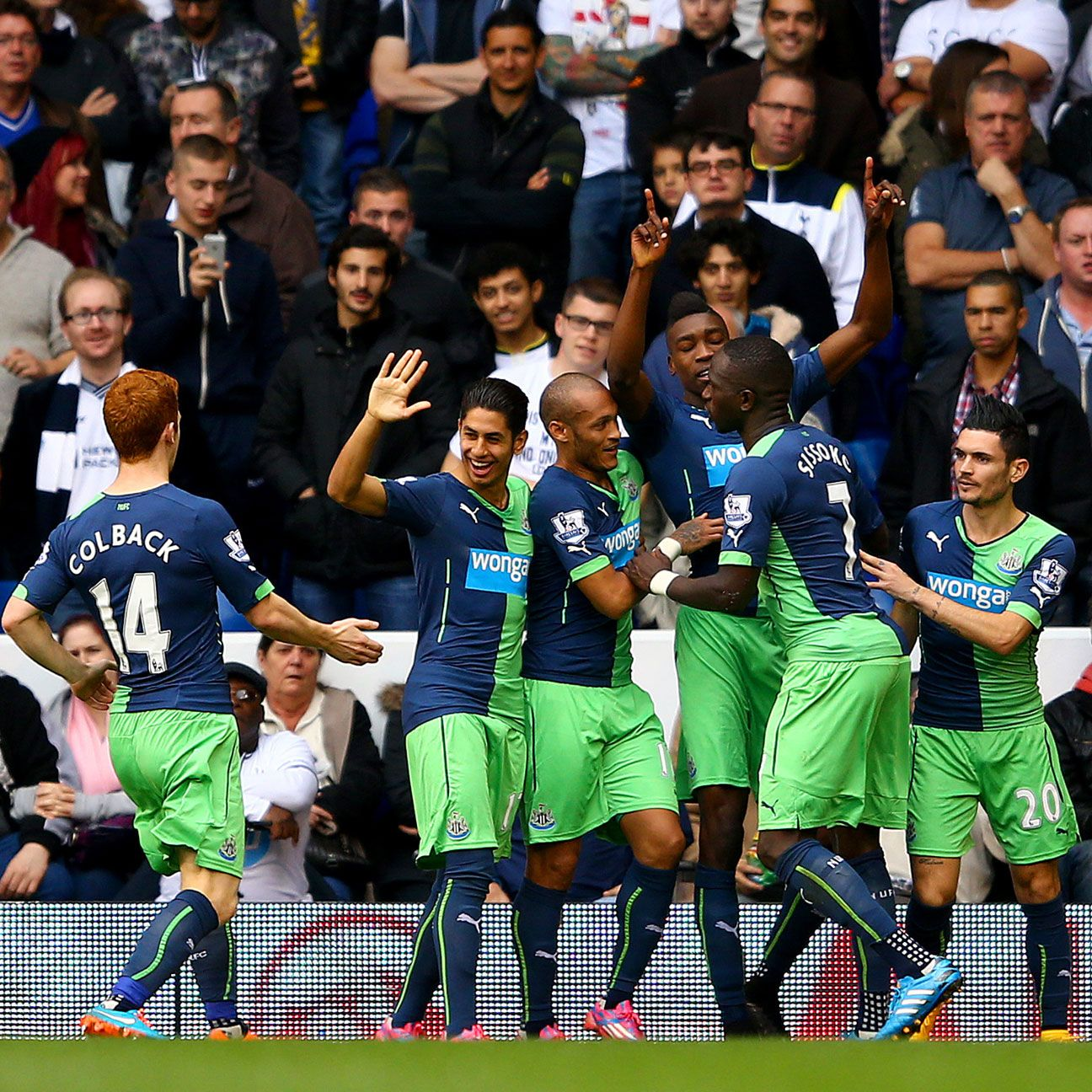 Newcastle stormed back to down Spurs thanks in part to Sammy Ameobi's lightning-quick strike to open the second half.