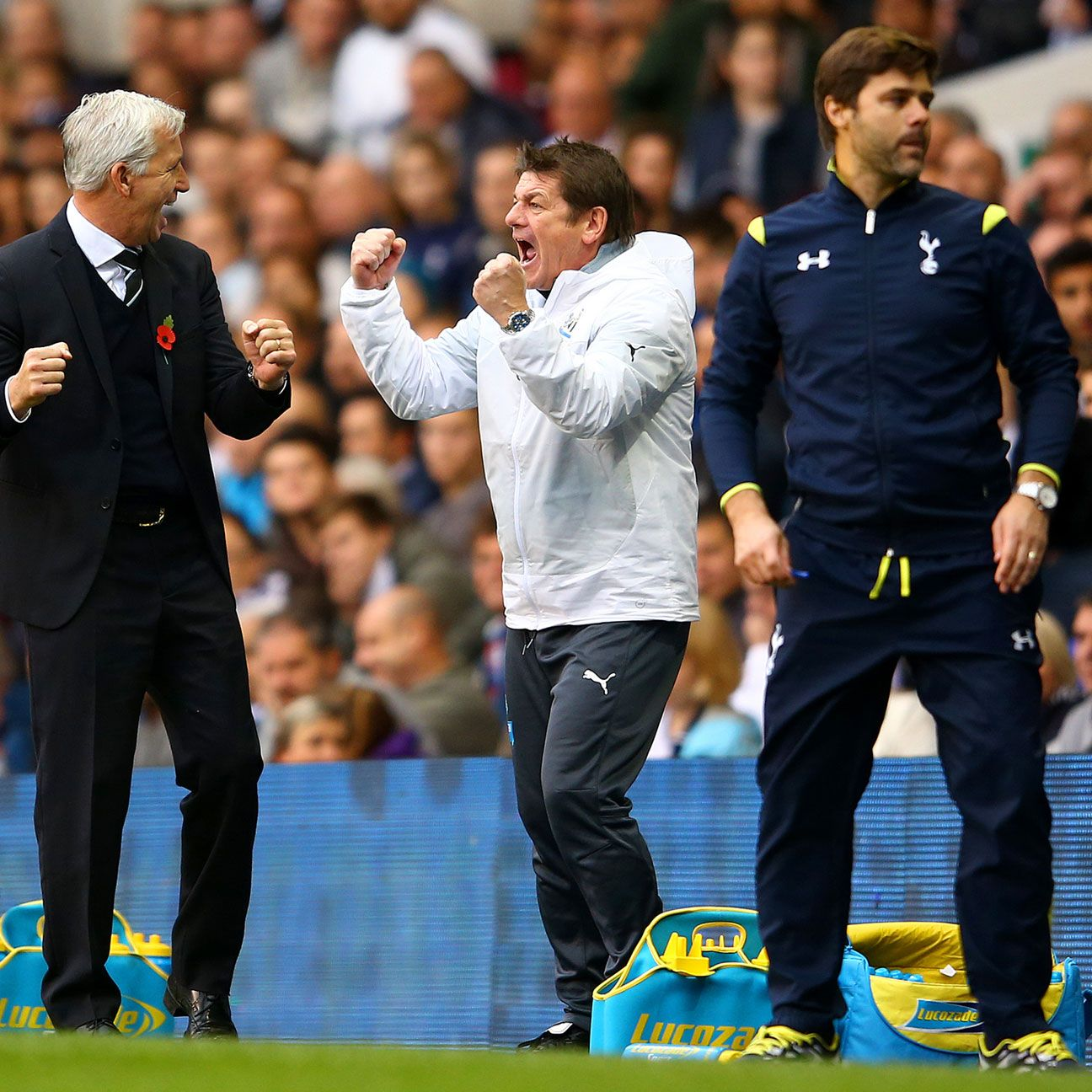 Alan Pardew's attack-minded second half subs paid dividends against Mauricio Pochettino's side.