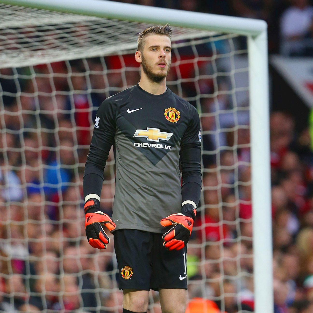 Once again David De Gea stood tall in net for United.