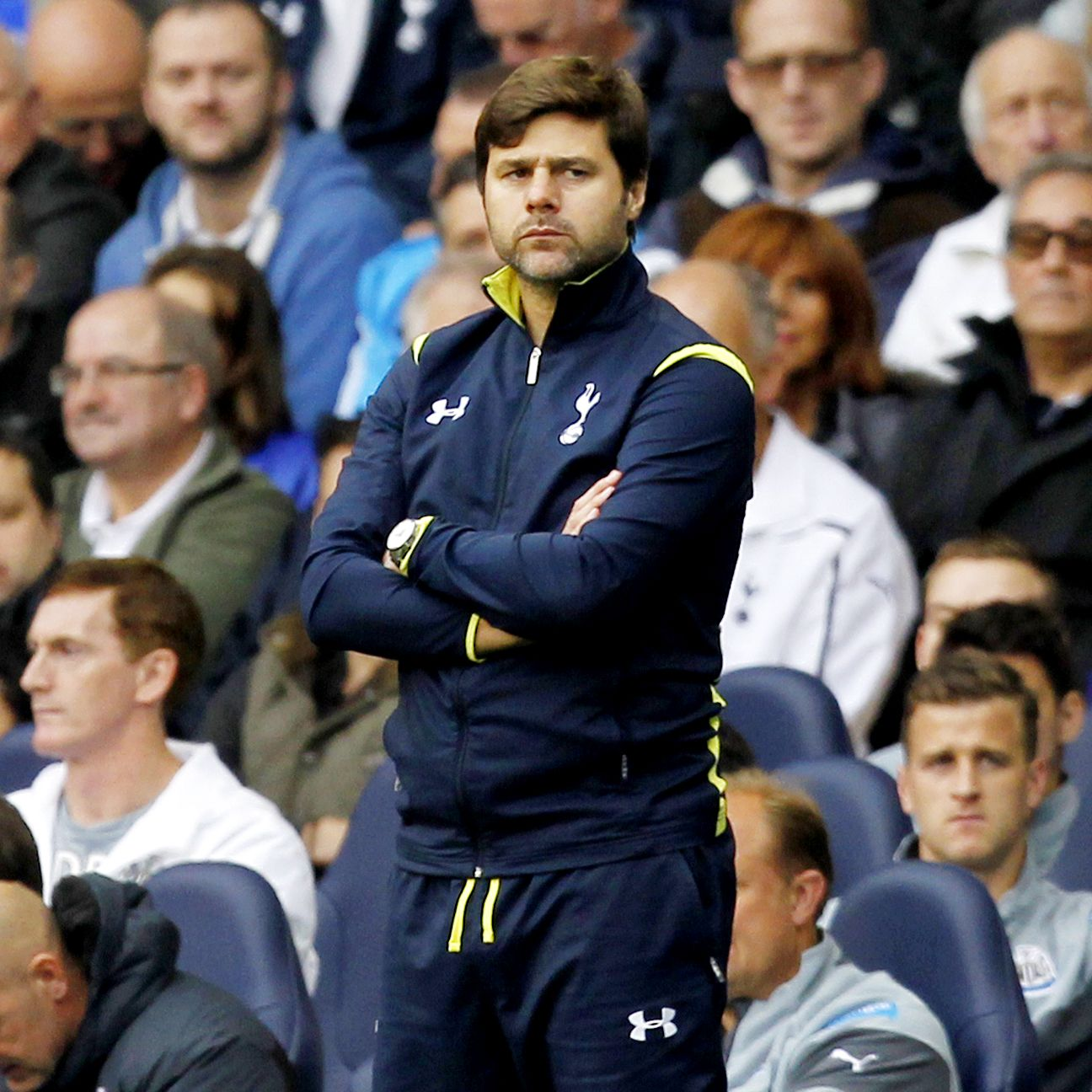 Mauricio Pochettino's Tottenham slumped to their second straight Premier League defeat on Sunday.