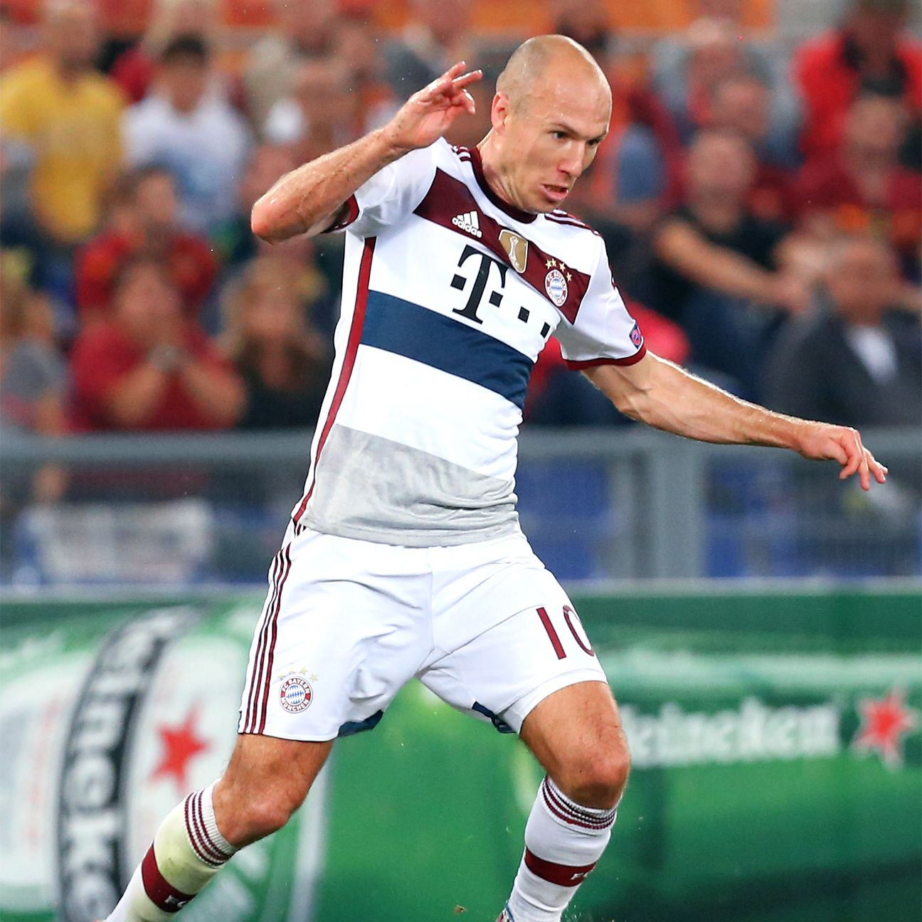 With Arjen Robben sidelined, Bayern were unable to find the back of the net versus Gladbach.