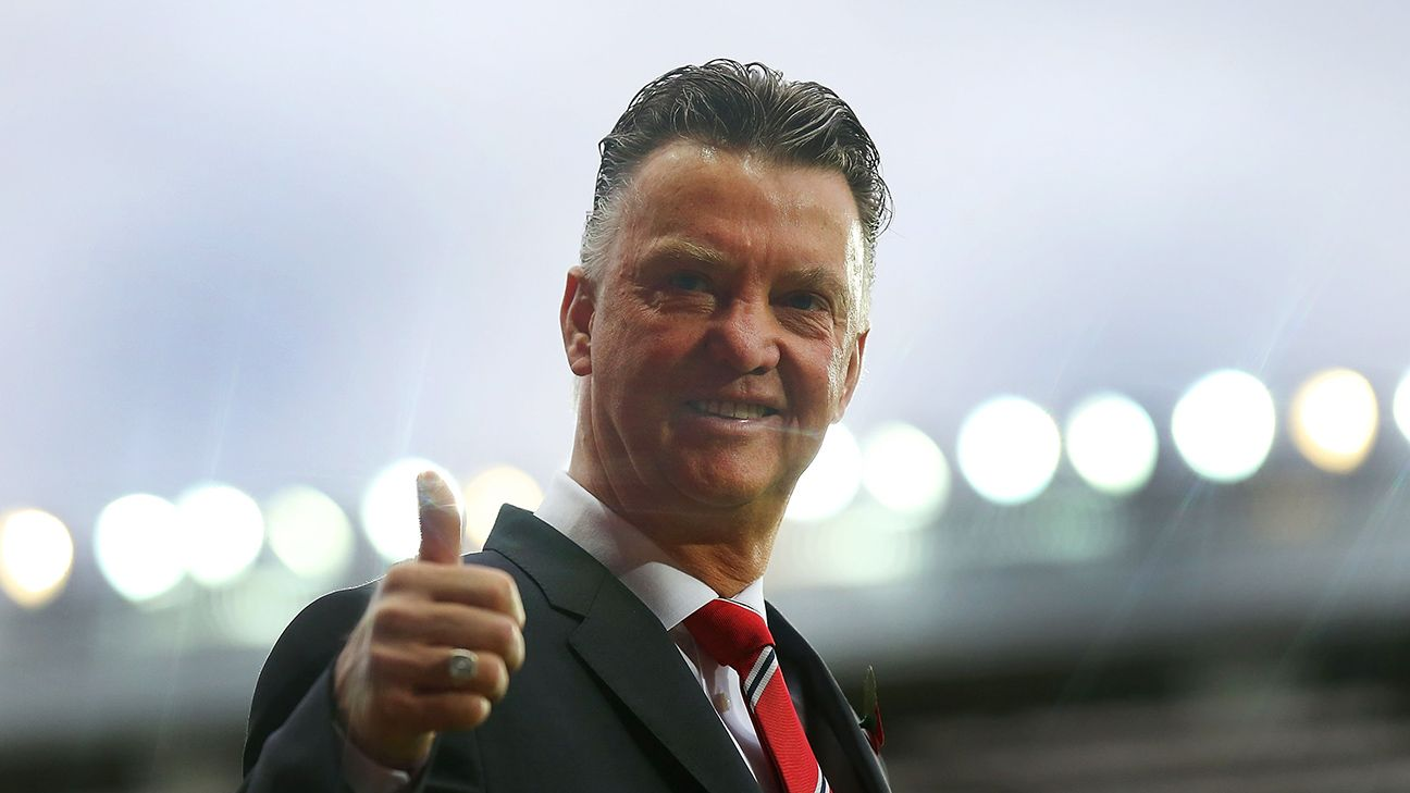 Manchester United Boss Louis Van Gaal Confident For 2015