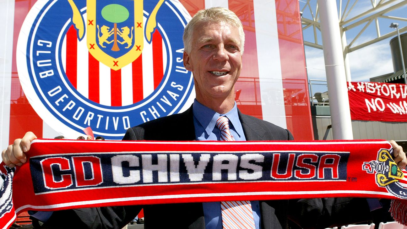 Thomas Rongen was the first of nine head coaches in 10 seasons of Chivas USA -- a further reflection of the club's constant state of change.