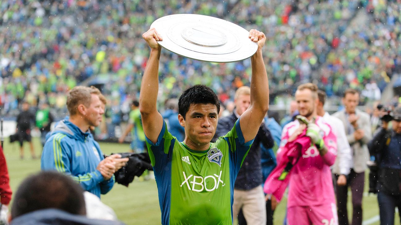 MLS is no longer cemetery for old players - Seattle's Gonzalo Pineda