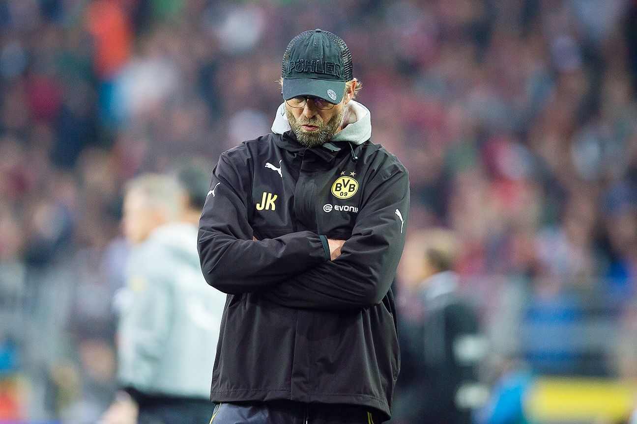 Jurgen Klopp's Borussia Dortmund have suffered four straight Bundesliga defeats.