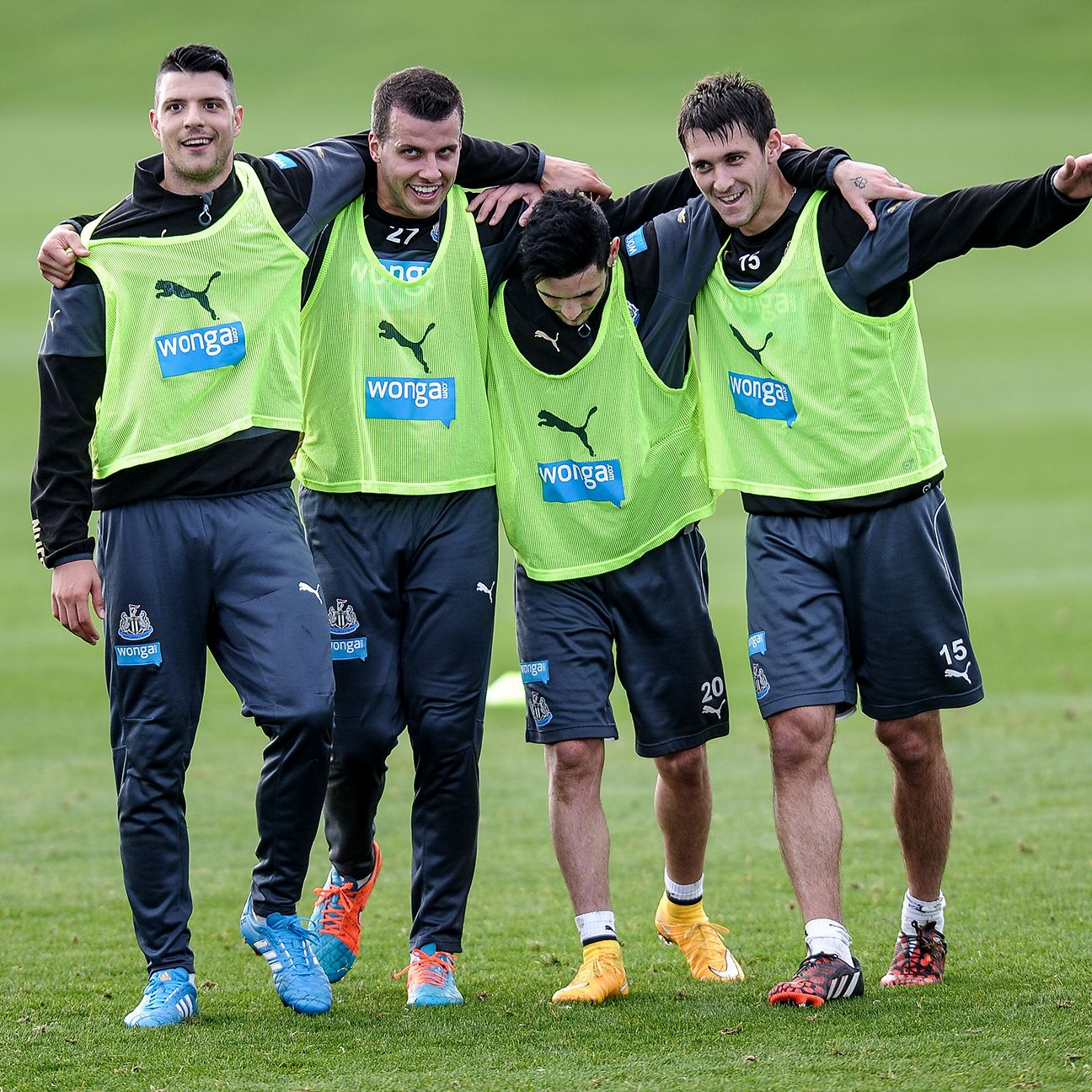 The good times are rolling at Newcastle after their midweek Capital One Cup victory over Manchester City.