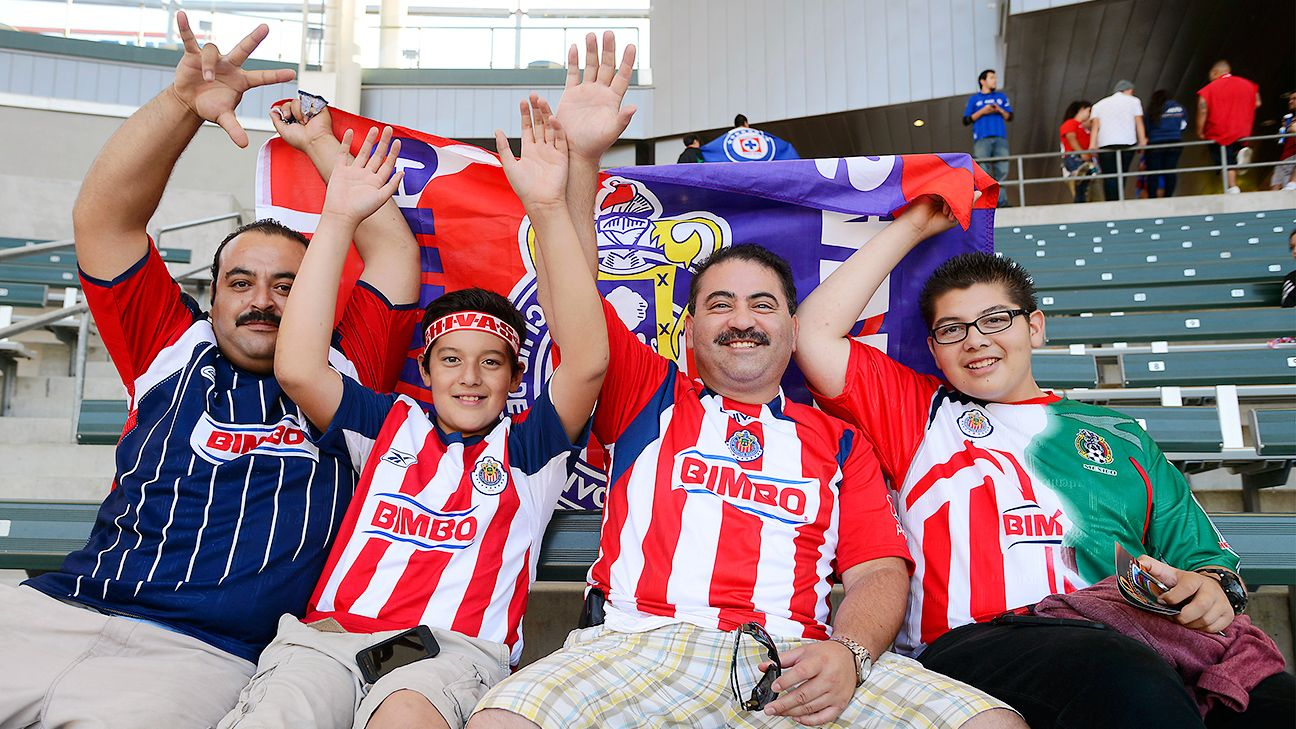 Supporting Chivas Guadalajara is a family affair.