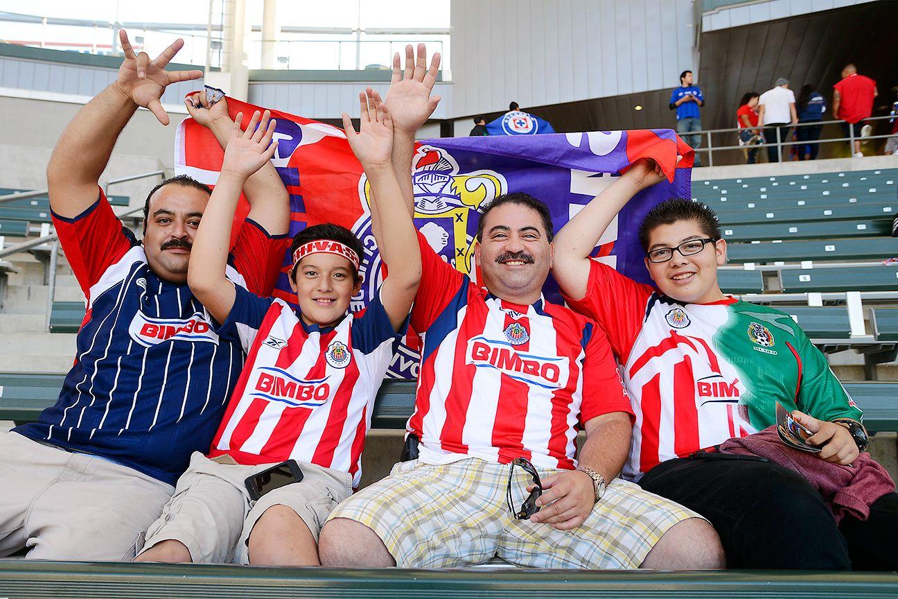 Supporting Chivas Guadalajara is a family affair.