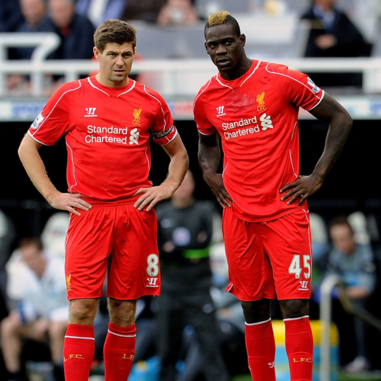 It's been a disappointing season for Steven Gerrard, Mario Balotelli and Liverpool.