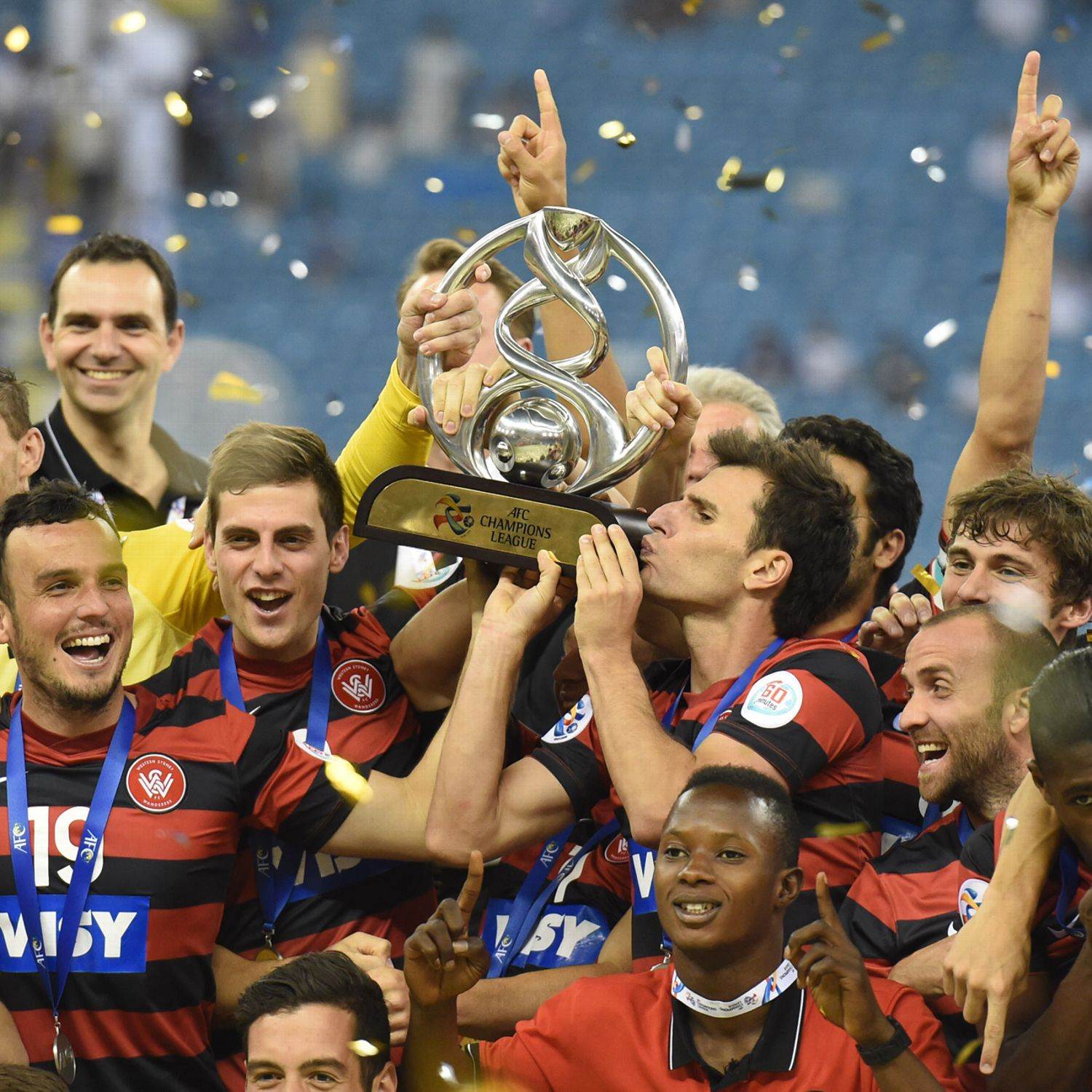 Champions League Asia: Western Sydney Wanderers Top Al