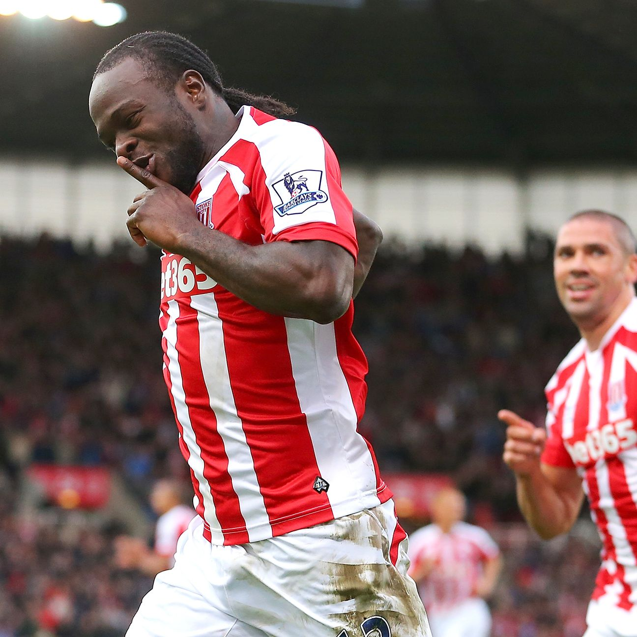 Victor Moses was one of many Stoke players who enjoyed a solid performance against West Ham.