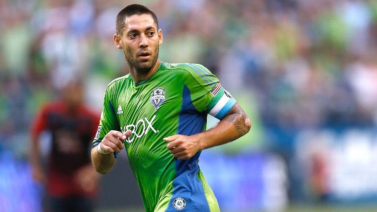 USMNT and Seattle Sounders player Clint Dempsey isn't the only footballer who can drop a beat.