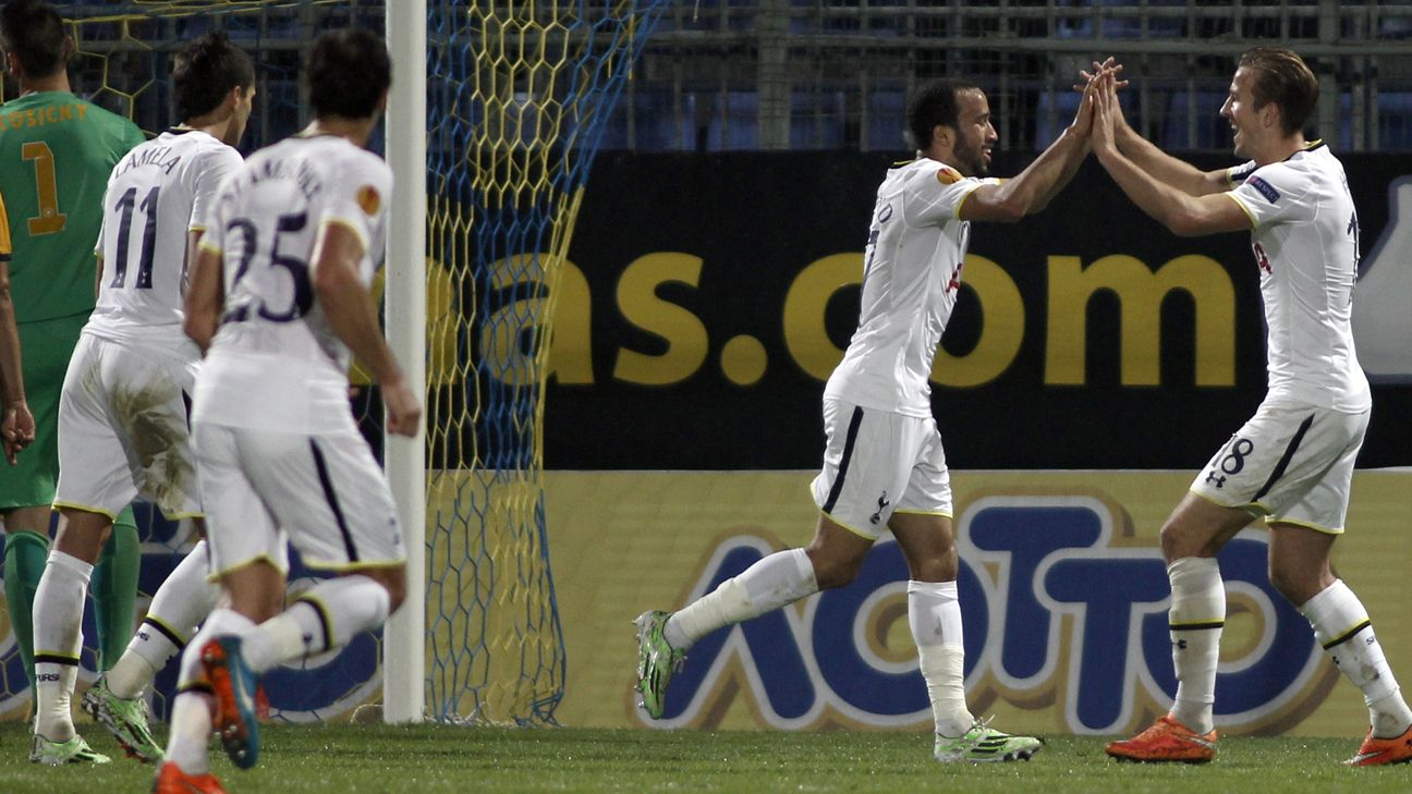 Europa League: Tottenham see off Asteras, St Etienne deny Inter Milan
