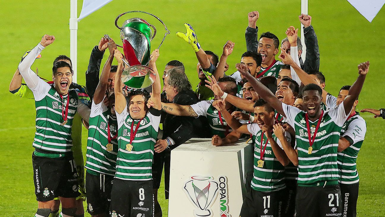 With their victory in penalties over Puebla in the Copa MX final, Santos won their first trophy since claiming the 2012 Liga MX Clausura.