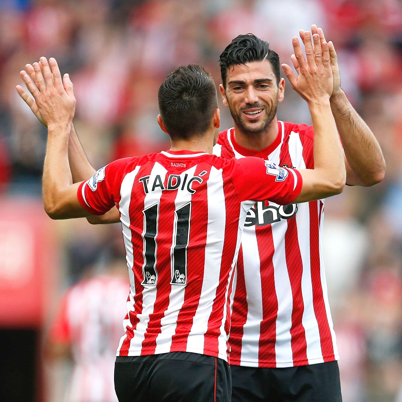 The duo of Dusan Tadic and Graziano Pelle will be tasked with getting Southampton back on track.