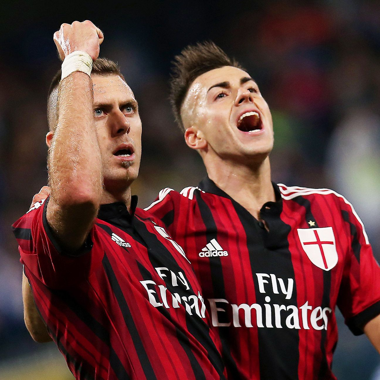 Milan fans will be relieved to see Stephan El Shaarawy's name on the scoresheet.