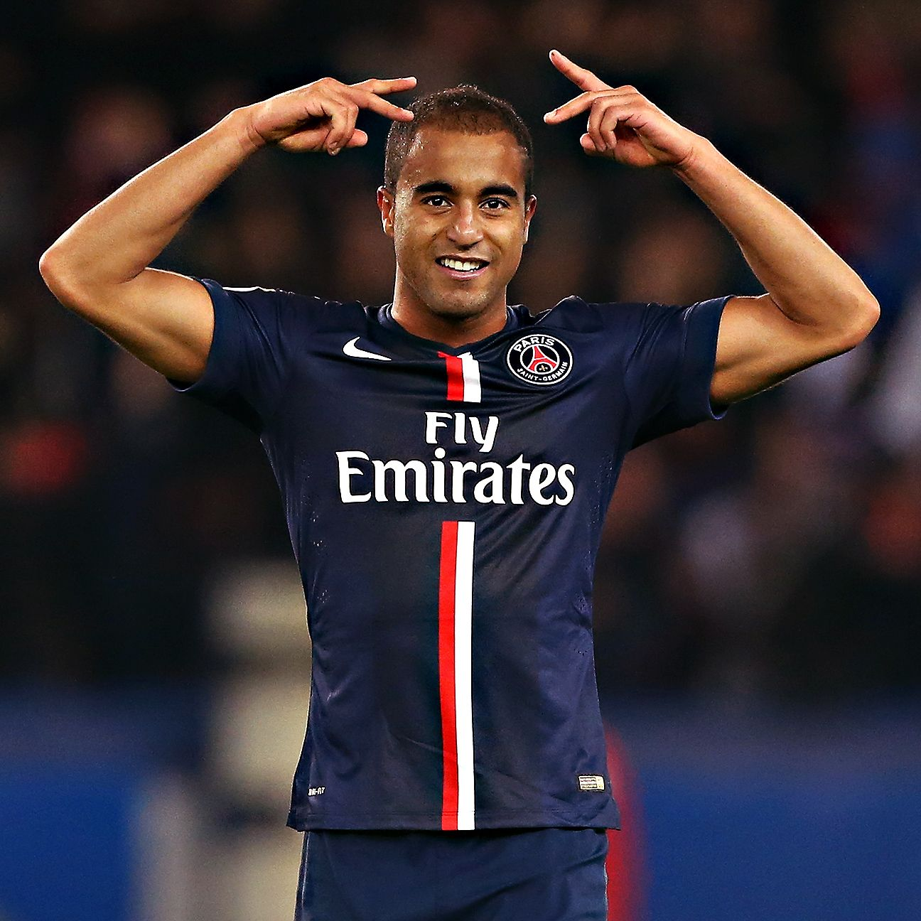 Paris St Germain: Lucas Moura And Edinson Cavani Led The