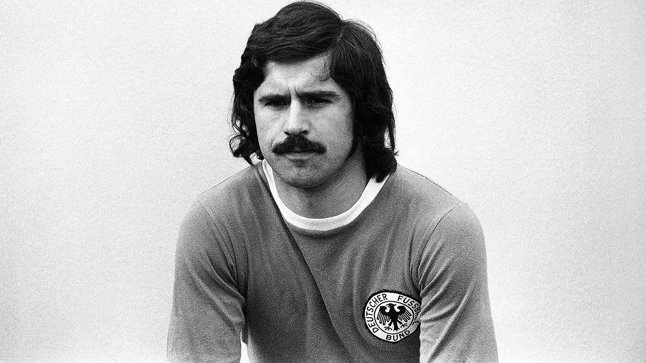 Gerd Muller was a scoring machine for Bayern Munich during the 1969-70 season.