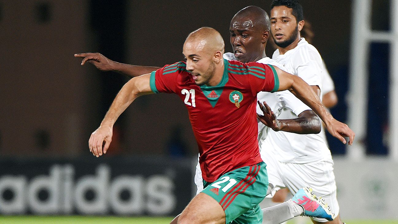 The likes of Nordin Amrabat and other Moroccan players will not be seen at the 2015 African Nations' Cup.