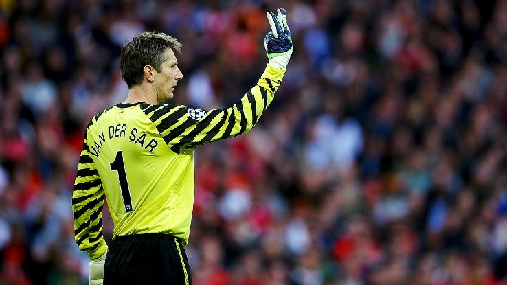 Edwin van der Sar once went more than 21 hours without conceding a Premier League goal.