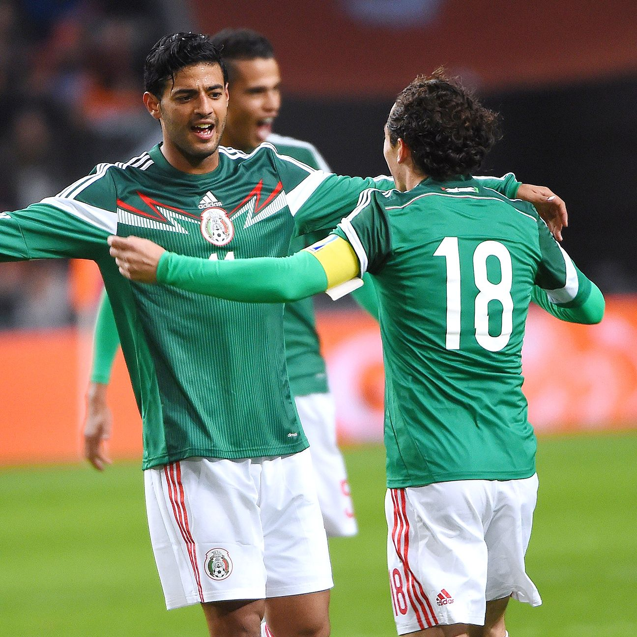 Carlos Vela put on a show in his Mexico return with two goals versus the Netherlands.