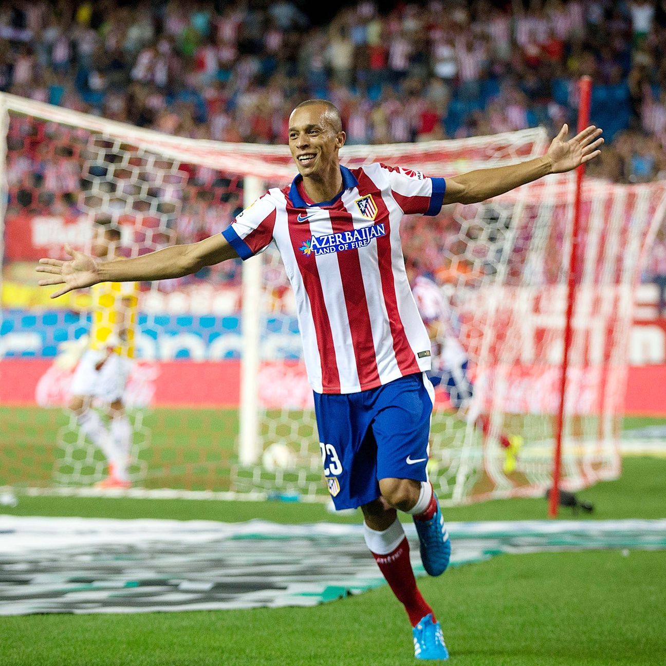 He's been a stalwart in Atletico's defence and has scored some big goals for the club, but this winter may be the right time to sell centre back Joao Miranda.