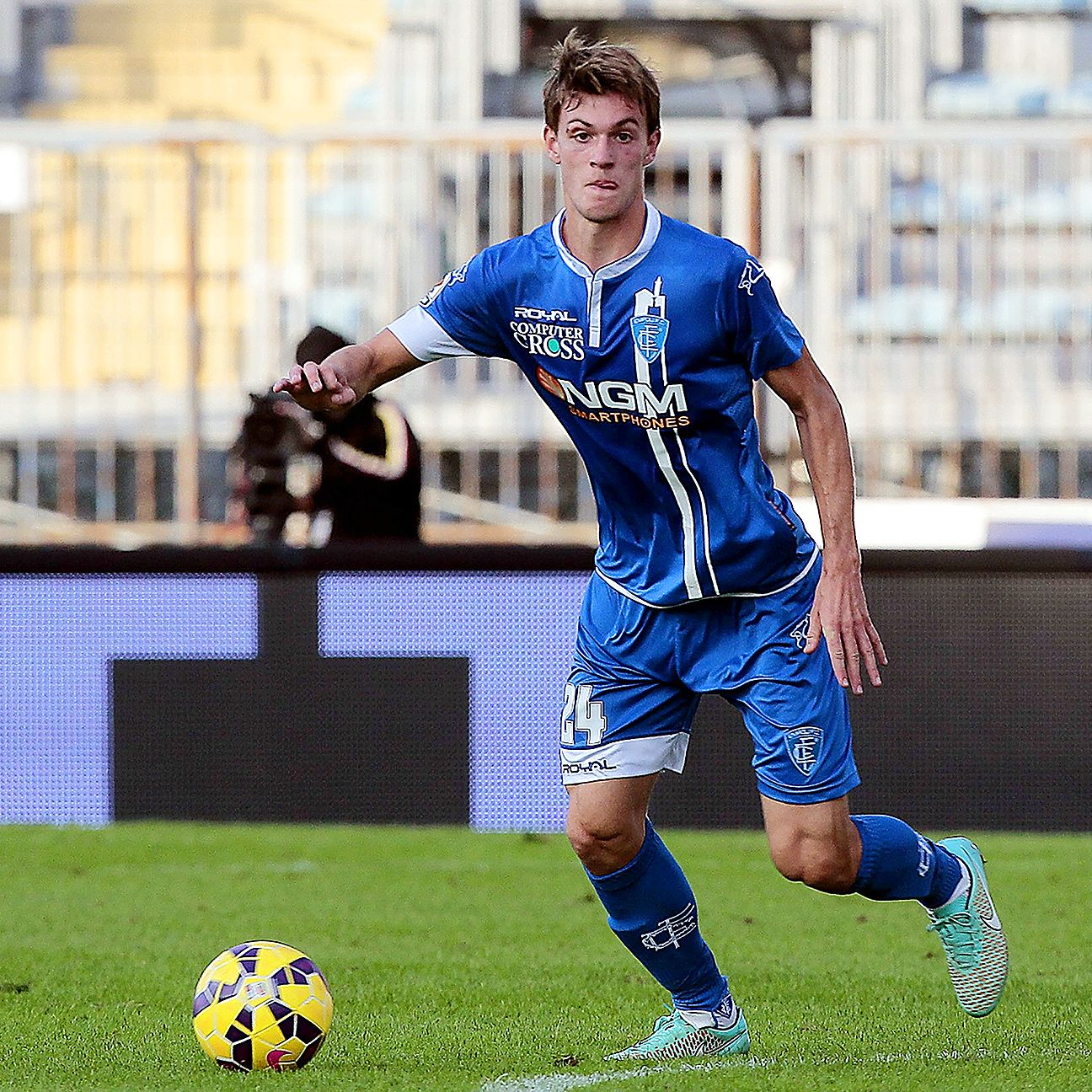 Daniele Rugani has all the ingredients to become the next great Italian defender.