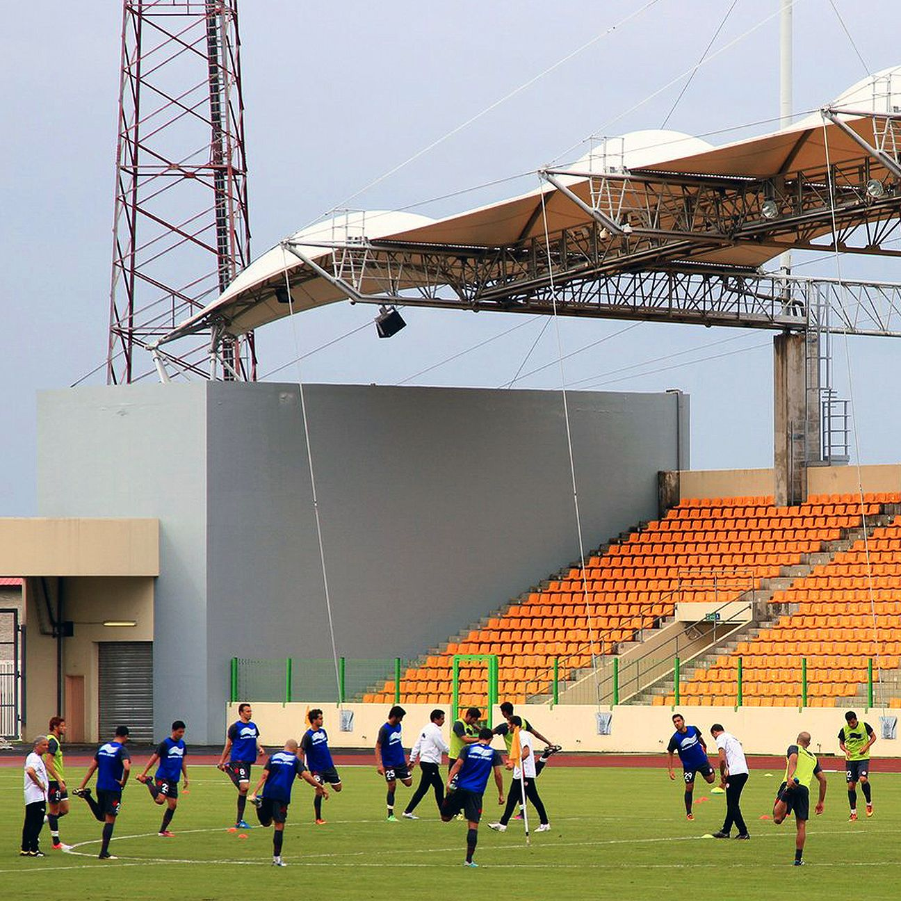 Olympic Stadium in Malabo will be one of the four venues for the 2015 African Nations' Cup in Equatorial Guinea.