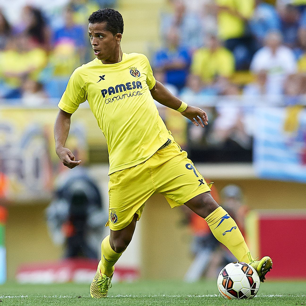 Giovani dos Santos is finally enjoying club stability in year two at Villarreal.