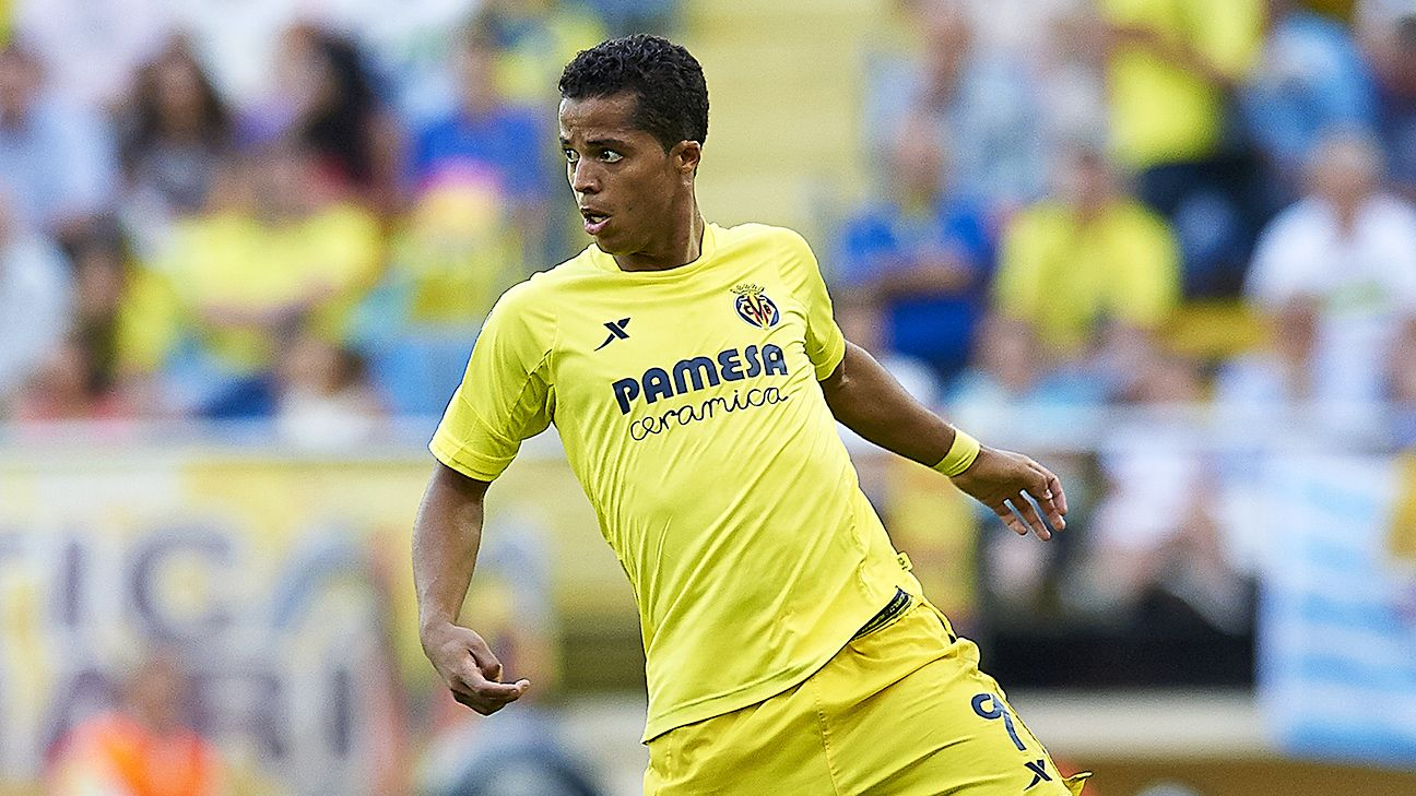 Giovani dos Santos appeared in 27 La Liga matches for Villarreal during the 2014-15 season.