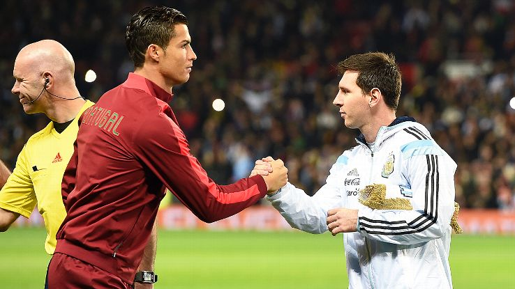 lionel messi and cristiano ronaldo meet again westford