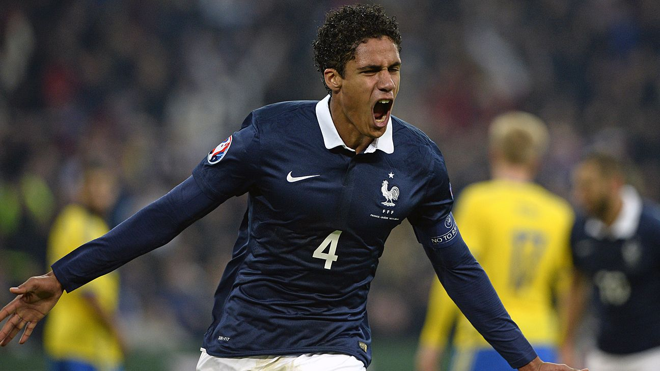 France defender Raphael Varane out of Euro 2016 with thigh injury