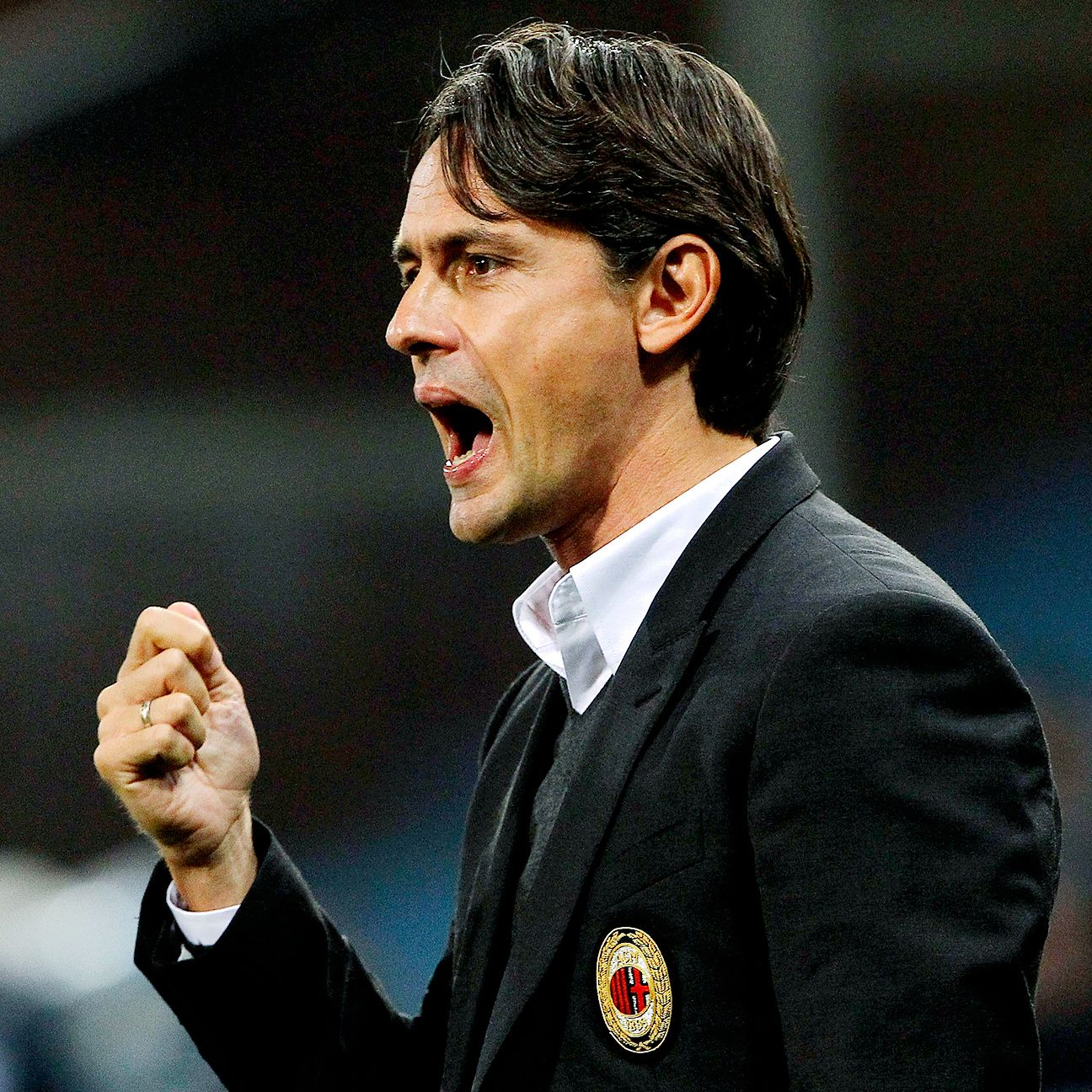 Pippo Inzaghi will be seeking victory in his first Milan derby as AC Milan manager.