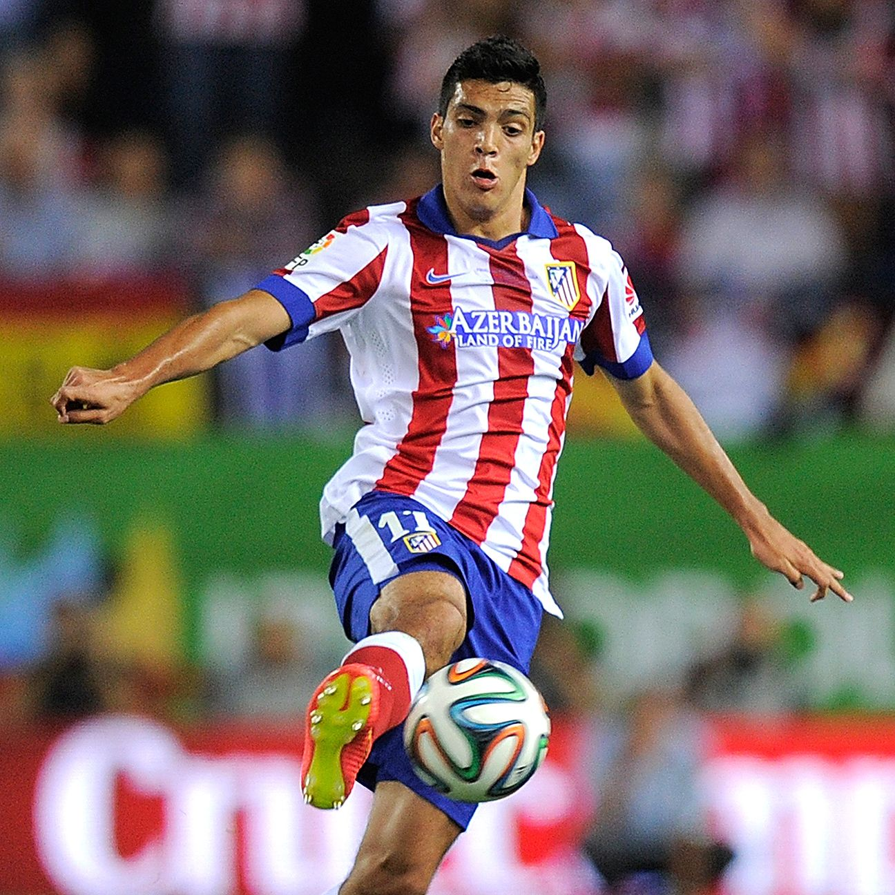 Former Club America striker Raul Jimenez has failed to make much of an impact at the Vicente Calderon.
