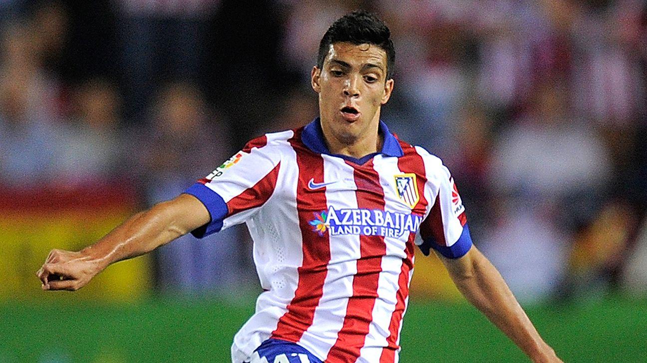 Former Club America striker Raul Jimenez has failed to make much of an impact at the Vicente Calderon.