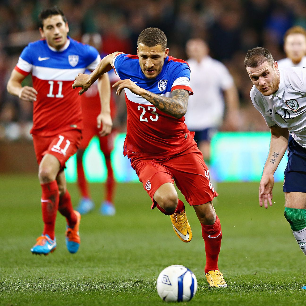 Fabian Johnson's recent struggles were on full display in the loss to the Irish.