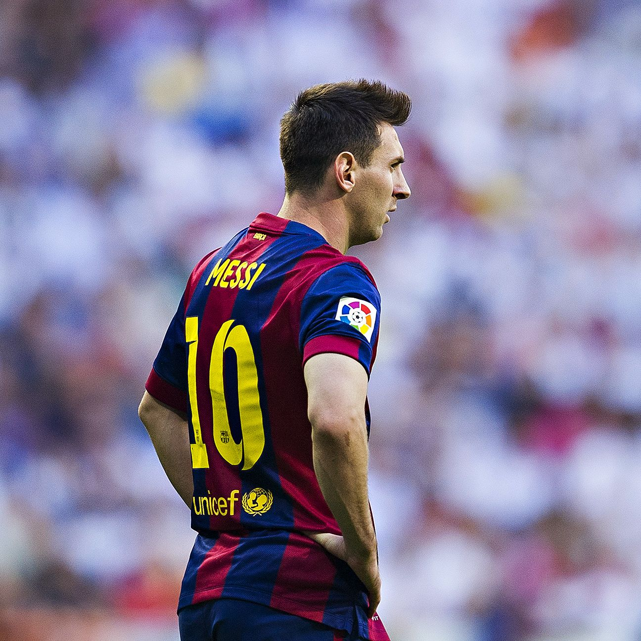 For the first time ever, some doubt has been cast on Lionel Messi's future at Barcelona.