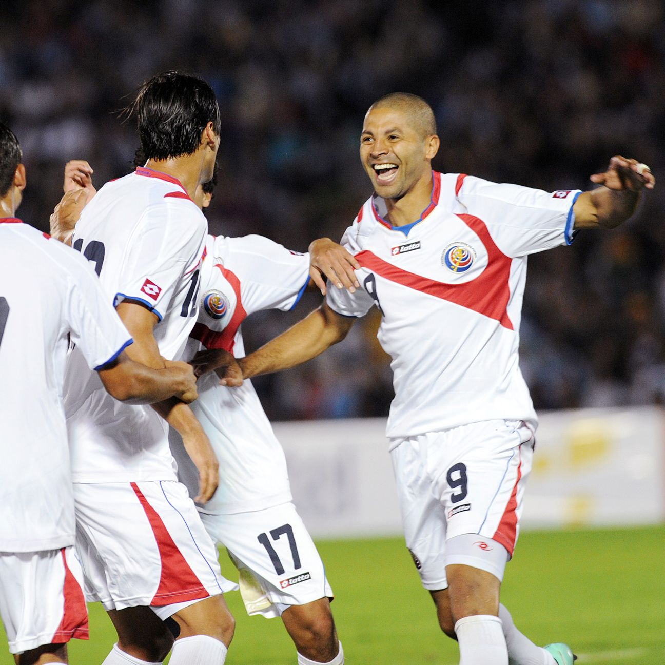Alvaro Saborio and Costa Rica have had every reason to smile after a historical 2014 for the Ticos.