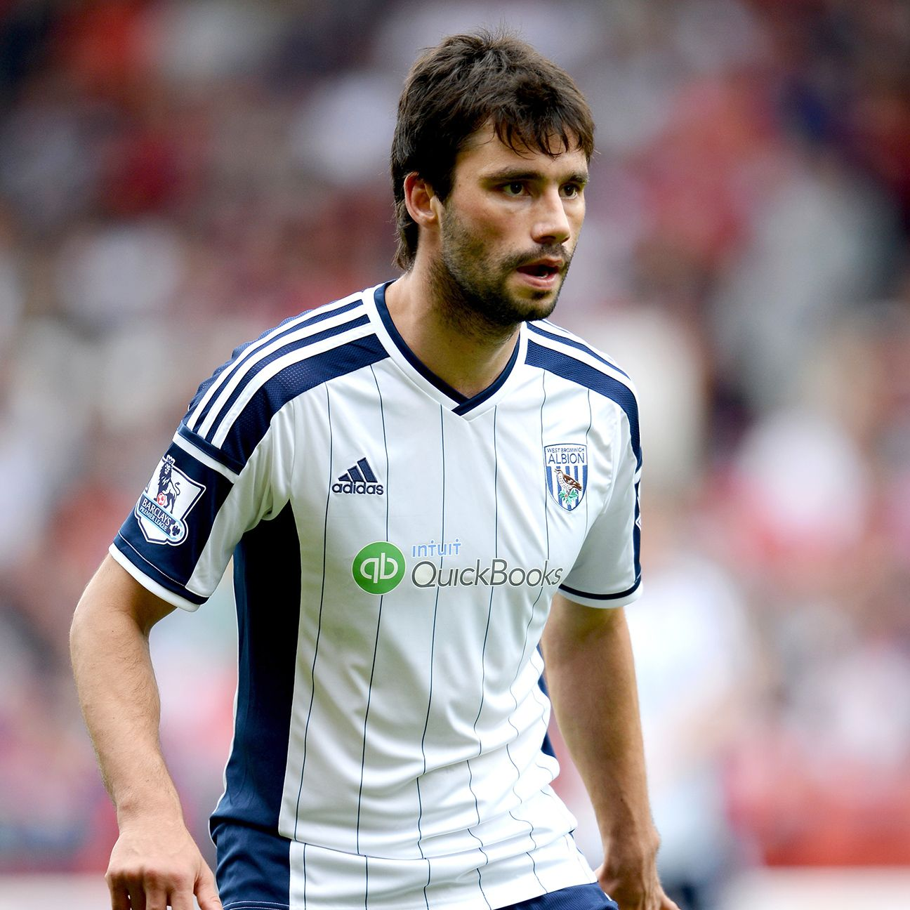 Claudio Yacob's hard-nosed play will be sorely needed by West Brom at Chelsea.