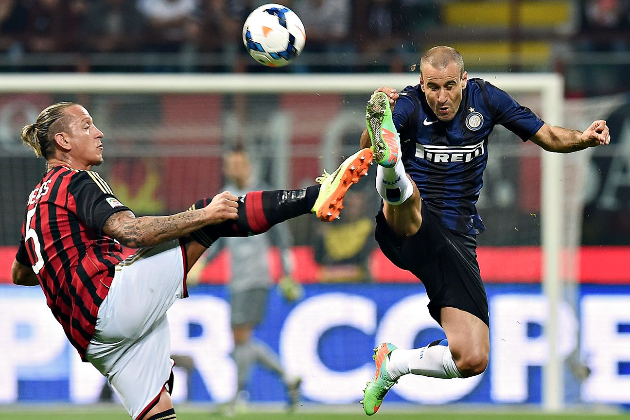 The Milan derby has fallen on hard times, with neither Philippe Mexes' Milan nor Rodrigo Palacio's Inter able to make much of a title run in Serie A.