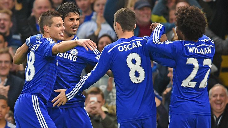 With a testy Champions League encounter against Schalke up next, Saturday's easy win over West Brom was perfect timing for Chelsea.
