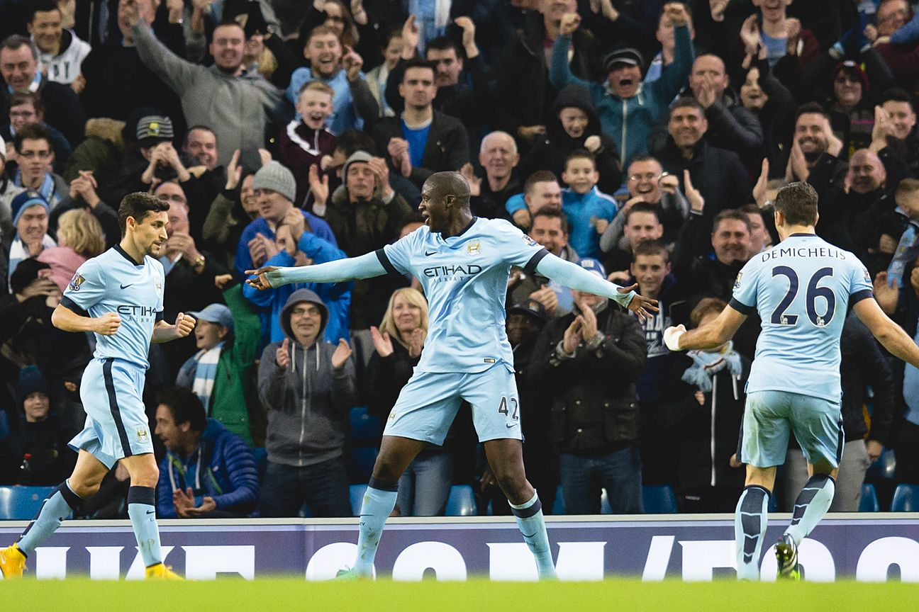 Yaya Toure came through with the winner in Manchester City's comeback 2-1 victory over Swansea.
