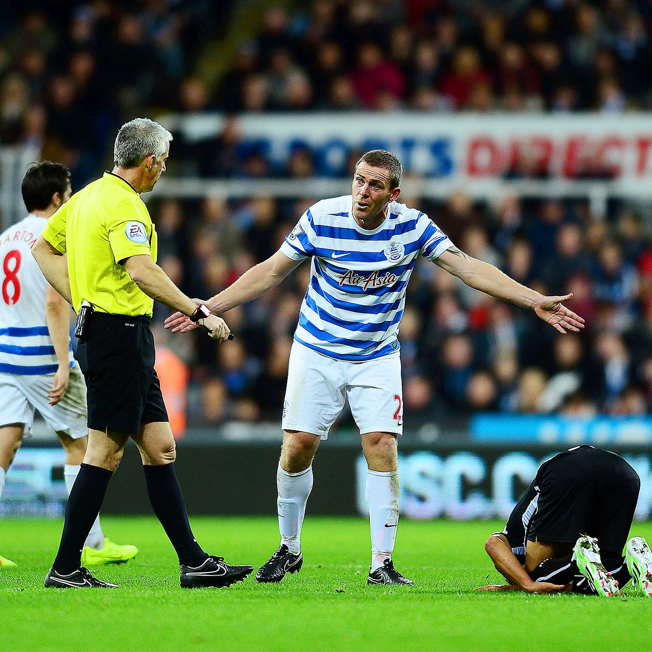QPR offered little in attack versus Newcastle and mainly relied on the defensive efforts of Richard Dunne and company.
