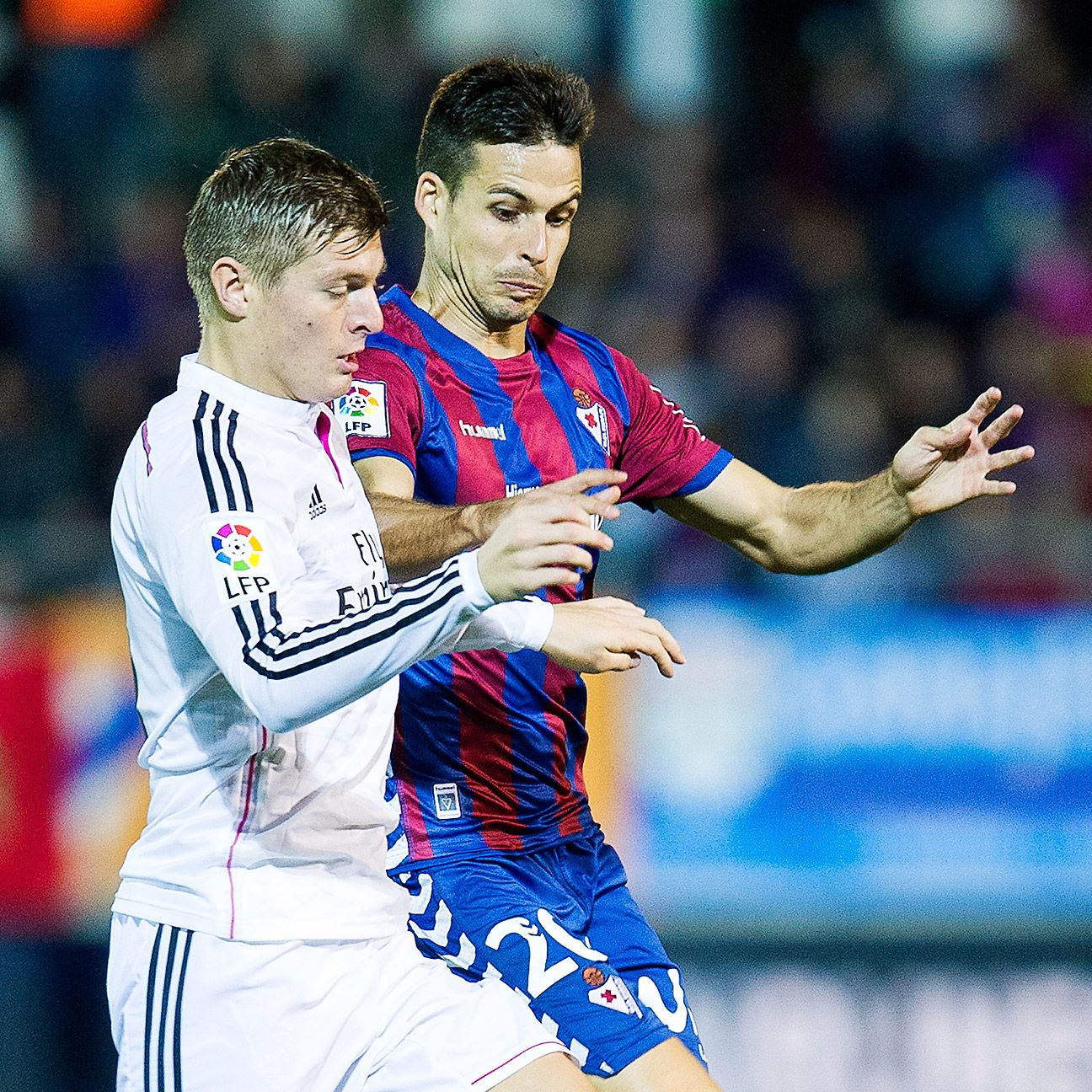 Real Madrid controlled the midfield game versus Eibar thanks to the efforts of Toni Kroos.