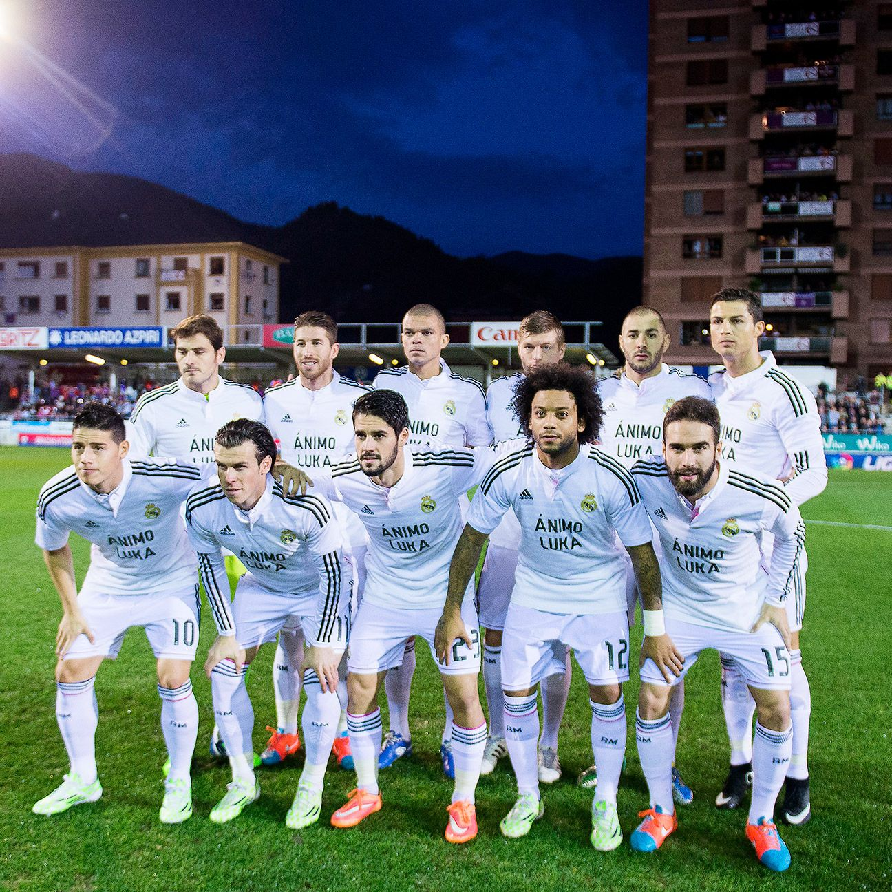 Real Madrid were rarely threatened in their first ever league visit to Eibar's quaint Ipurua Stadium.