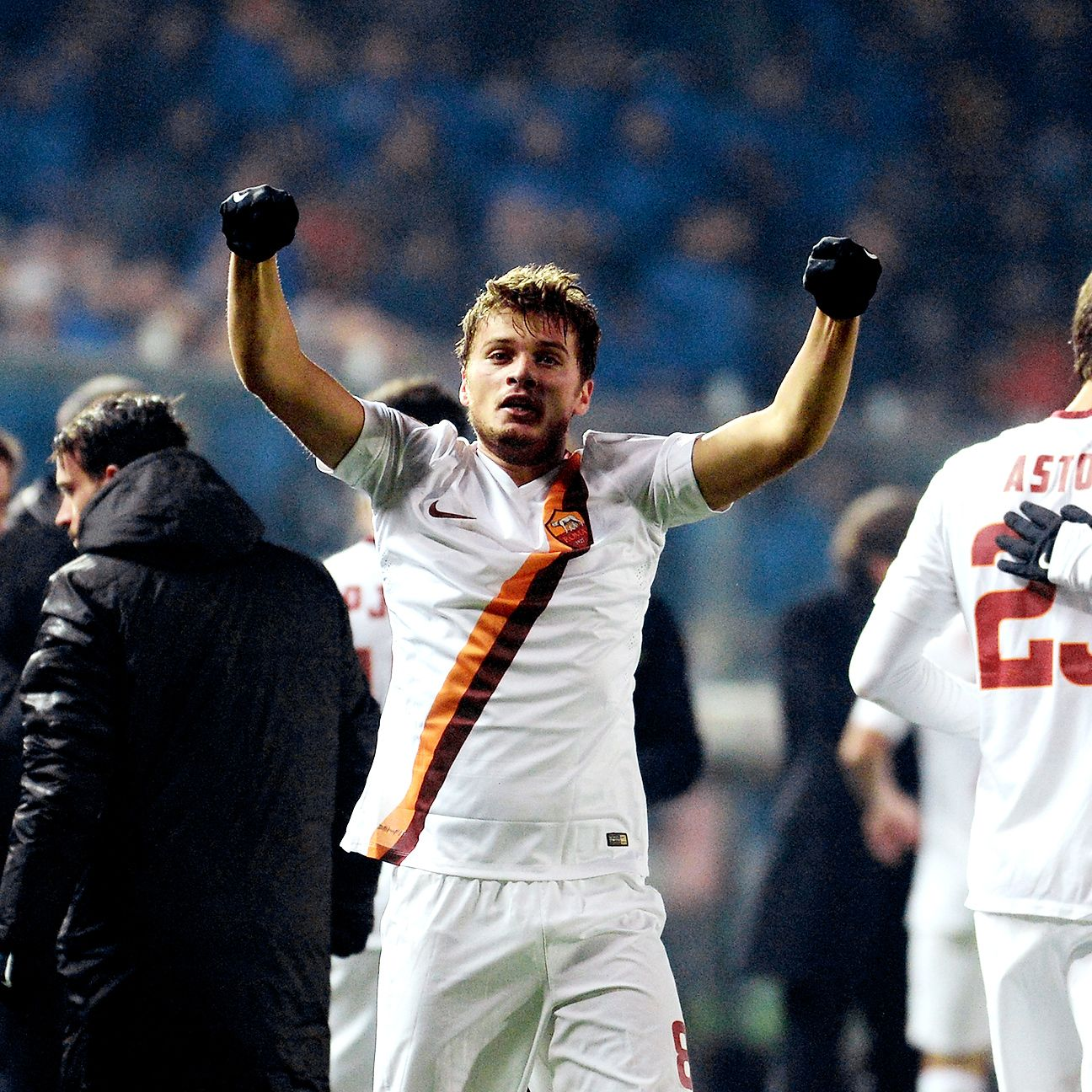 The play of Adem Ljajic inspired Roma to a comeback victory over Atalanta.