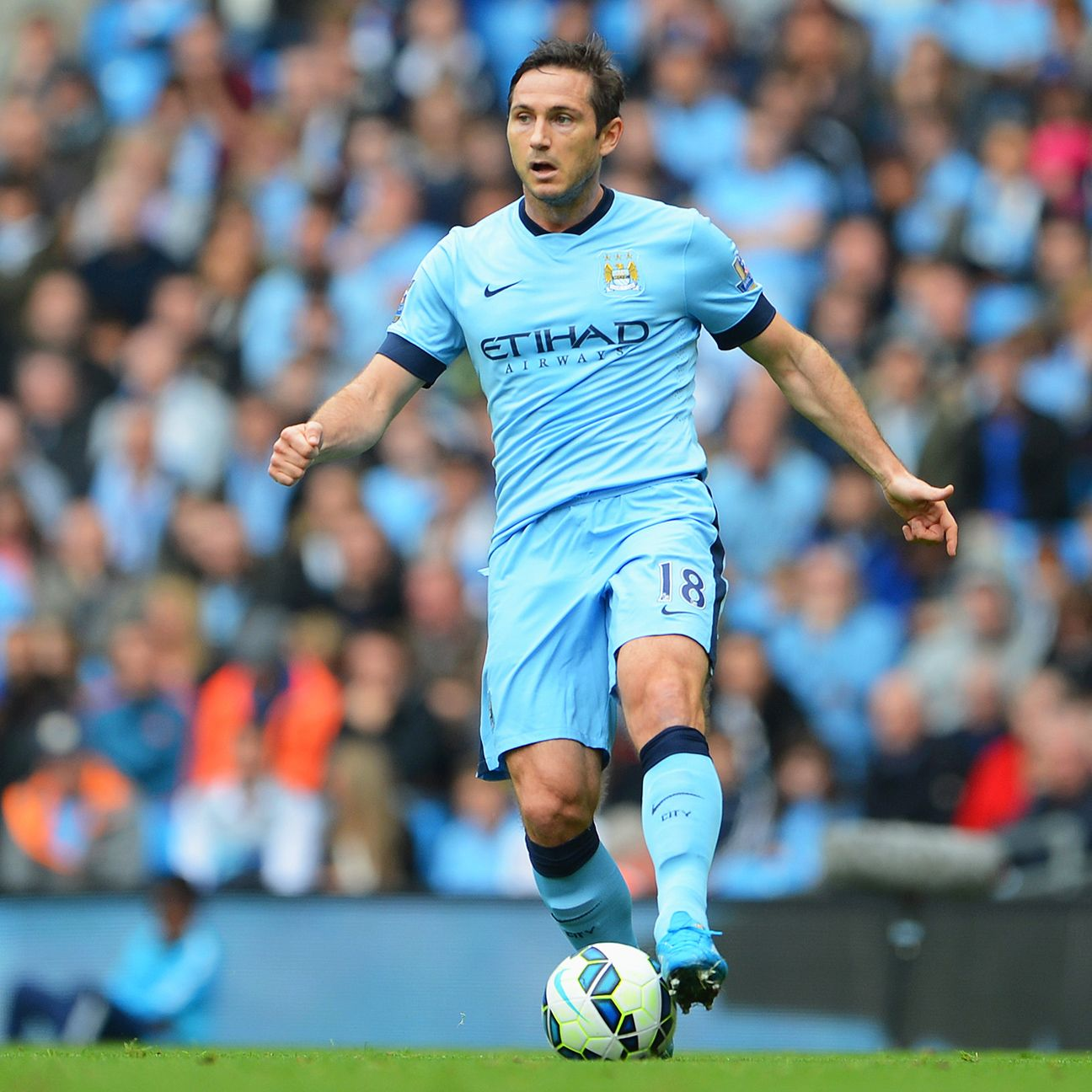 Veteran Frank Lampard offers a stability in midfield that could benefit City against Bayern.